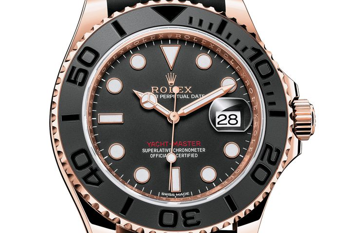 Image from http://cdn5.themanual.com/wp-content/uploads/2015/03/Rolex-Yacht-Master-Everose-116655-Oysterflex-rubber-7.jpg.