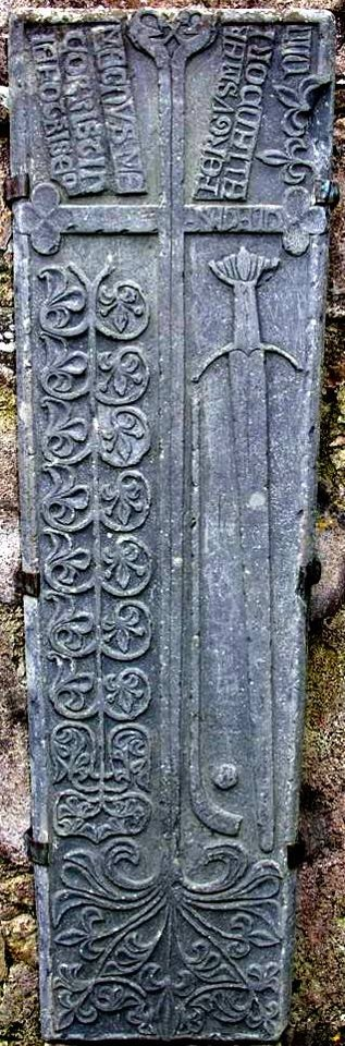 The Clonca graveslab. Believe it or not one of the earliest depictions of a hurley and sliothar Is found on a 15th century graveslab from Clonca