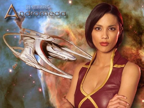 Andromeda - the beautiful Lexa Doig