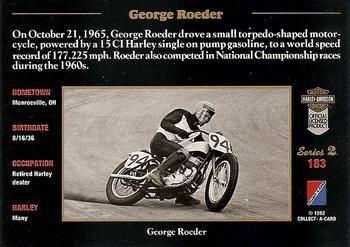 George card back