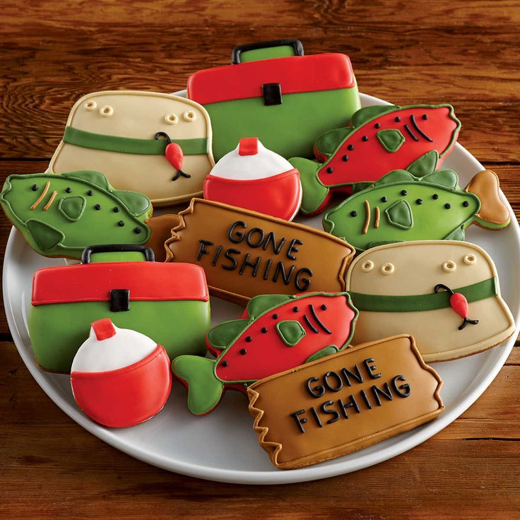 Fisherman's Decorated Cookies | Cookie Gifts Delivered | Harry & David