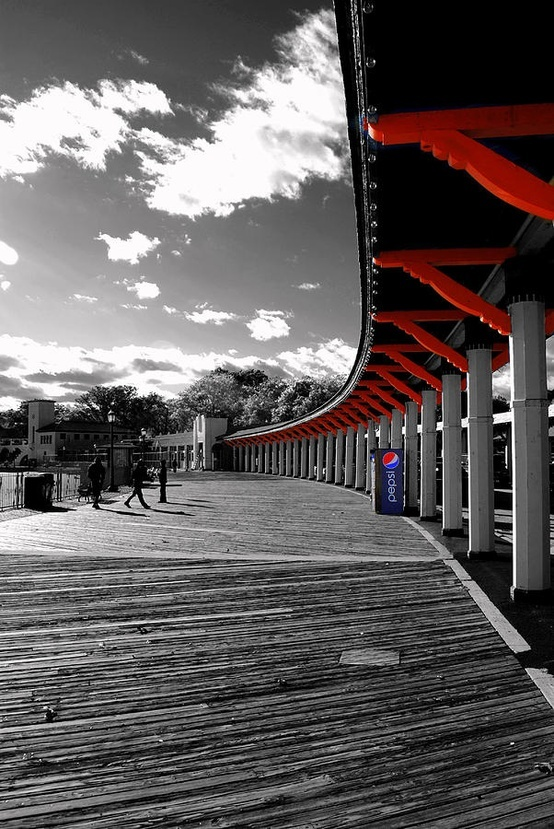 Boardwalk 2 by laura daddona touch of red touch of pepsi