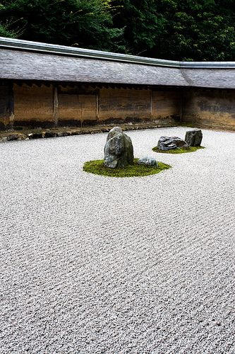 Ryoan-ji (The Temple of the Dragon at Peace) is a Zen temple located in…