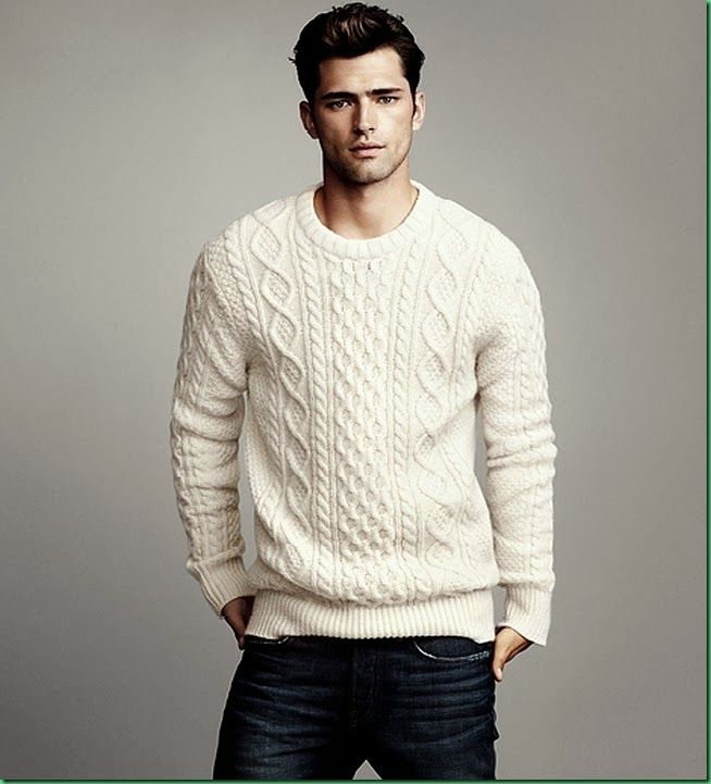 Sean O'Pry for H&M: 'Winter Knits' I know what your thinking, but you can pull it off!
