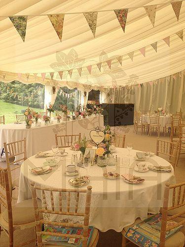 Wedding Table Centre Vintage Tea Party Theme