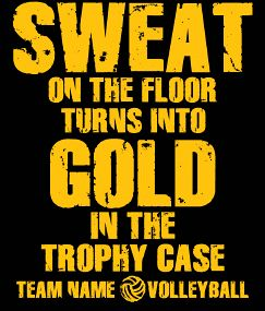 Favorite volleyball quote!
