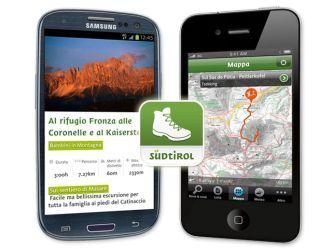 Alto Adige / Südtirol Trekking Guide Applicazione SPLENDIDA!