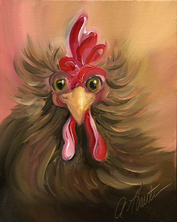 who me?~ Artist Amy Hautman