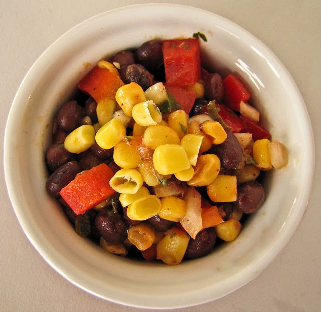 Southwest Corn Salad by On the Move-In the Galley