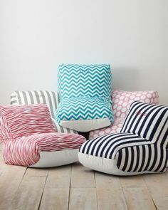 Beanbag Lounge Chairs. Easy, comfy seating for big and little people