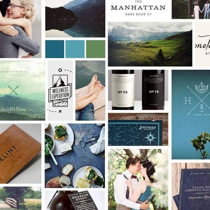 Mood Board - teal and olive wedding / Hey, Sweet Pea // Mood board for JNP Images -
