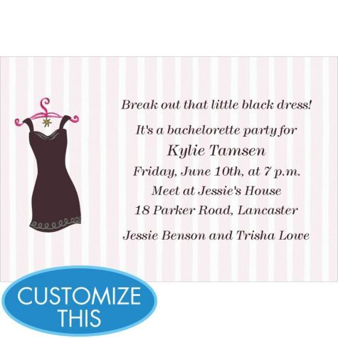 49 best Pure Romance Little Black Dress Party images – Little Black Dress Bachelorette Party Invitations