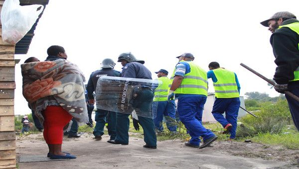 Marikana residents in Philippi aim to force City to expropriate land