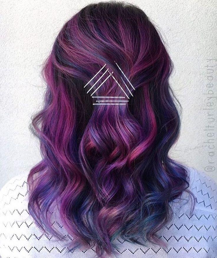Derfrisuren.top cheveux violets violets cheveux
