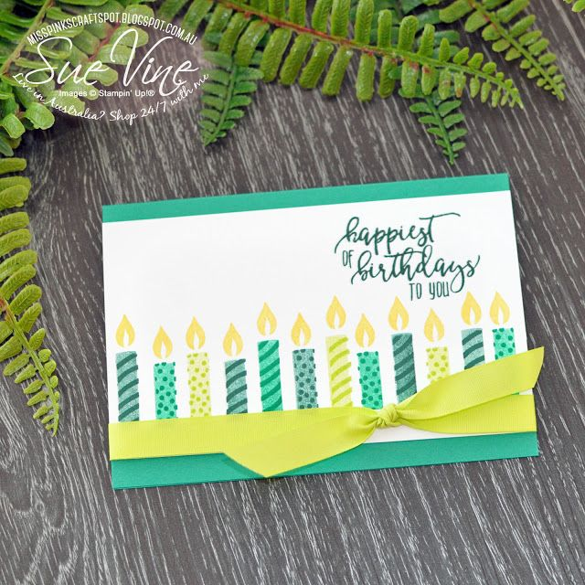Miss Pinks Craft Spot: Picture Perfect Birthday #WWYS 155
