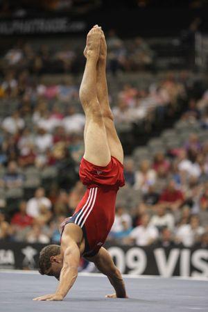 Jake Dalton: floor exercise