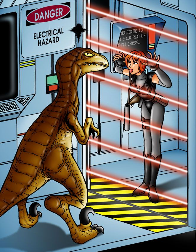 Dino Crisis: Messing with Raptor