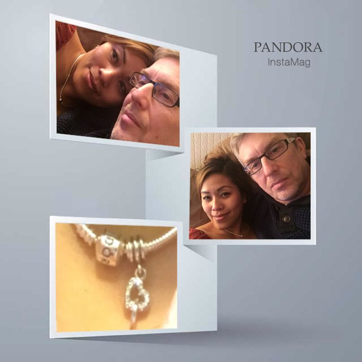 Expression of love #Pandora necklace