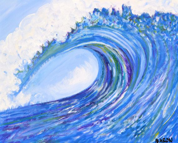 Best 25 wave paintings ideas on pinterest wave art for Tumblr painting art