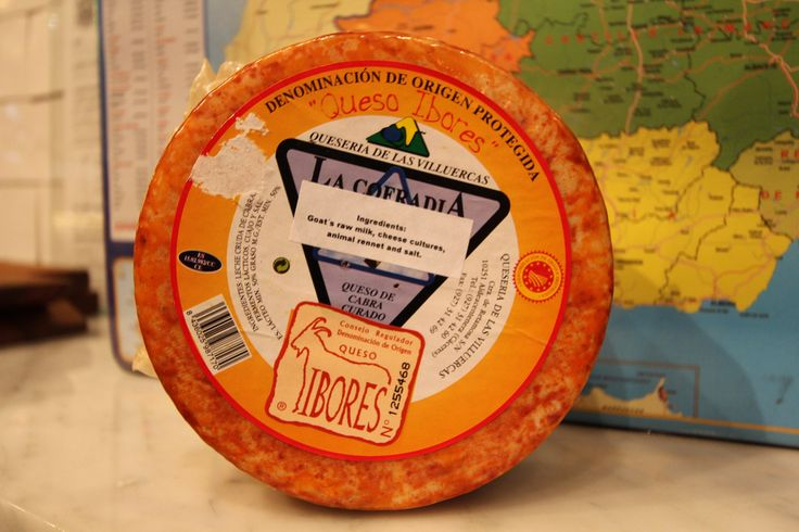 Cheese : Ibores Raw Goat's Milk Cheese (2 months)/ Queso Ibores de leche cruda y puro de cabra