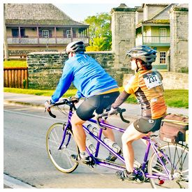 Just when you think traffic congestion couldn't get much worse, the City of St Augustine has announced to Historic City News that on Sunday, April 30th, residents can expect an increased presence of bicyclists throughout the city streets.