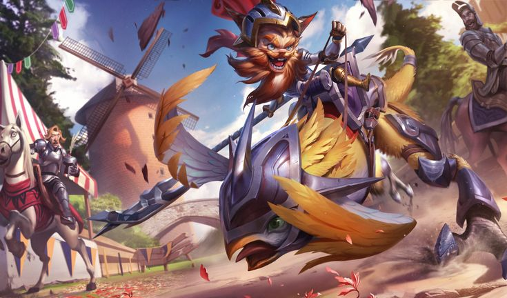 Sir Kled for League of Legends, Chengwei Pan on ArtStation at…