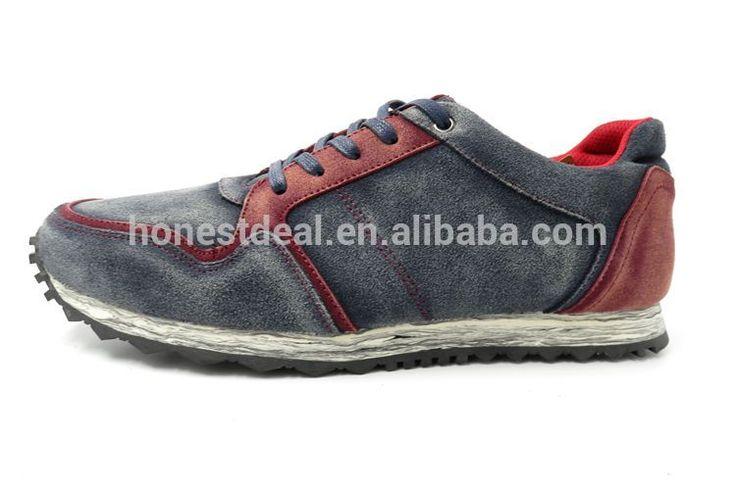 RS240-4 boys deri spor ayakkabı kaymaz erkekler koşu ayakkabıları