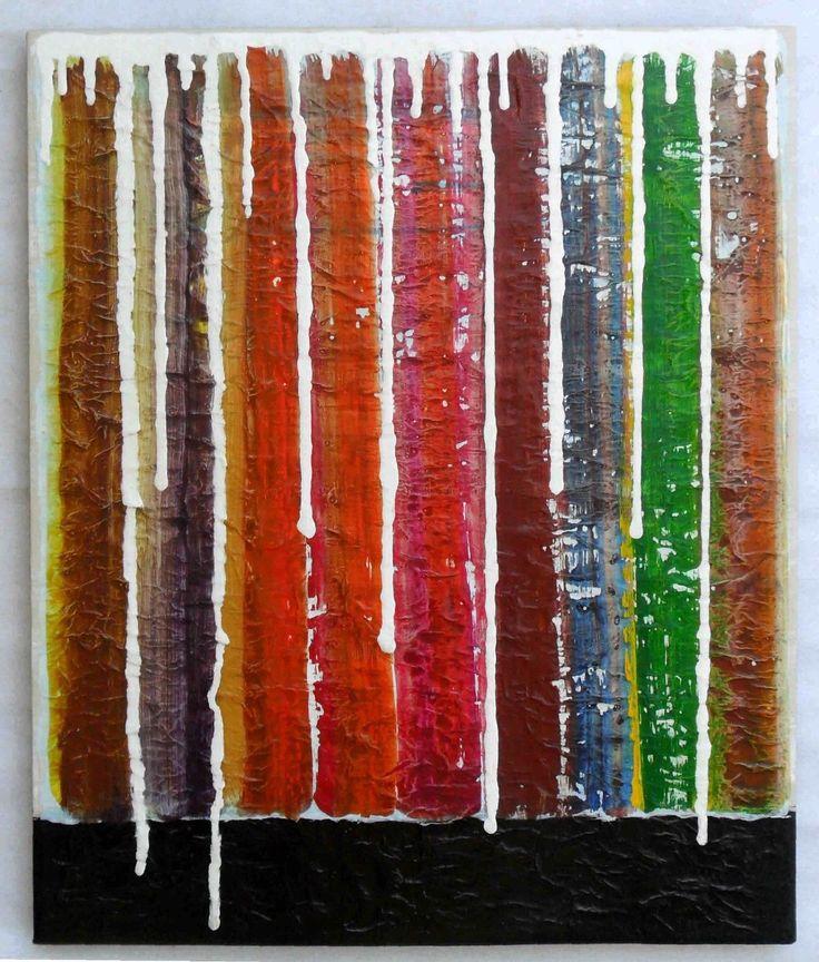 G.A.zanussi arte contemporanea quadro 60x50 opera su tela   eBay