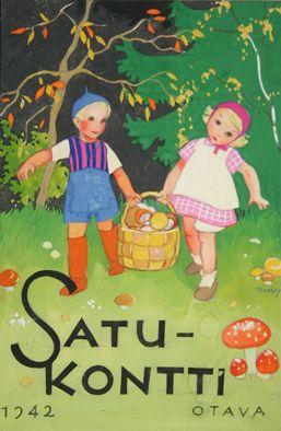 Illustration by Martta Wendelin (1893-1986) #satukontti