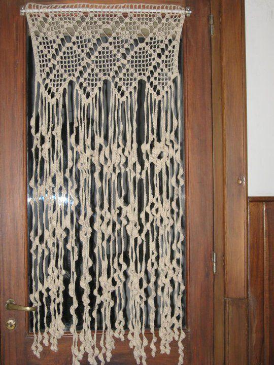 vicky crochet: cortinas