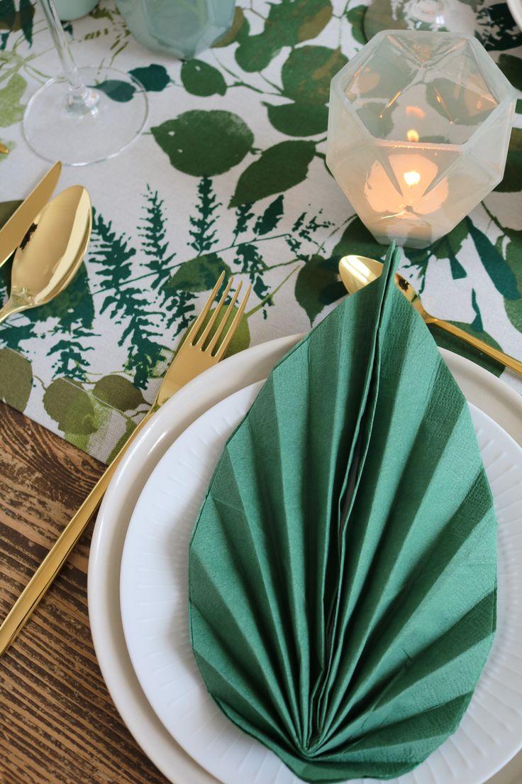 25+ einzigartige Servietten grün Ideen auf Pinterest | Ein deck ...