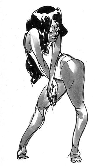 Dancer drawing by Rebecca Sugar