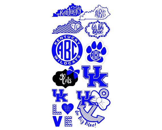University of Kentucky Logo Vinyl Decals