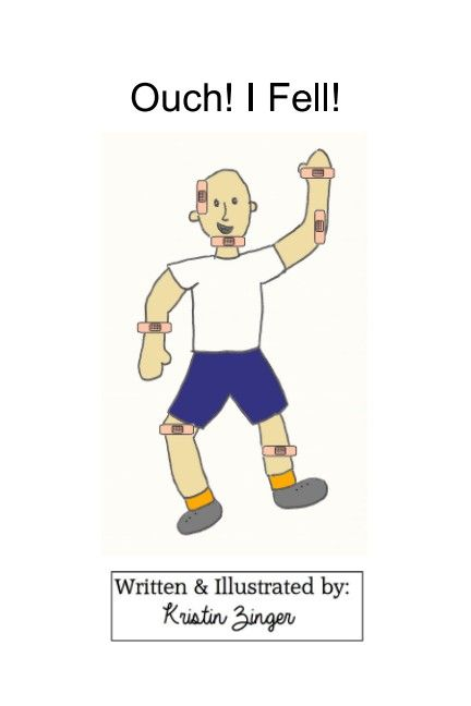 Can you help Ben feel better? He was running fast and fell. The only solution is to use bandages to cover what hurts.   This book targets body parts and is set up to target lip rounding with 'ouch' or 'boo-boo'. Activity pages are included with bandages for you to copy and cut out.