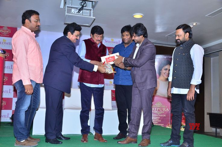 Photos Rajendra Prasad And Lavanya Tripathi Launches Tripura Herbal Hair Oil - Social News XYZ
