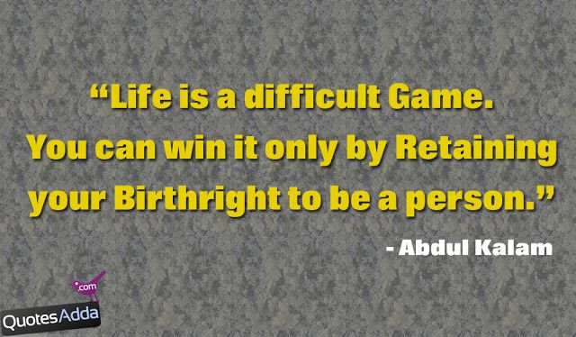 Abdul Kalam Quotations About Life | QuotesAdda.com | Telugu Quotes | Tamil Quotes | Hindi Quotes |