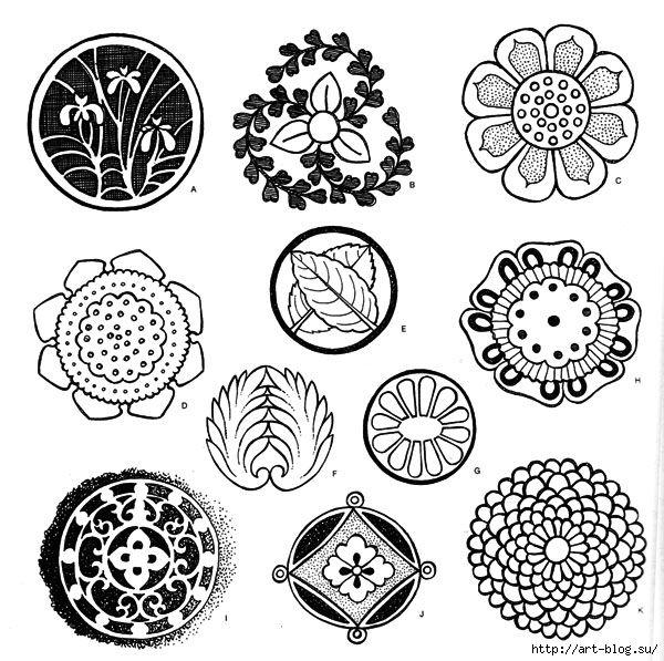 японский орнамент-виноград - Поиск в Google   Ботанические ...