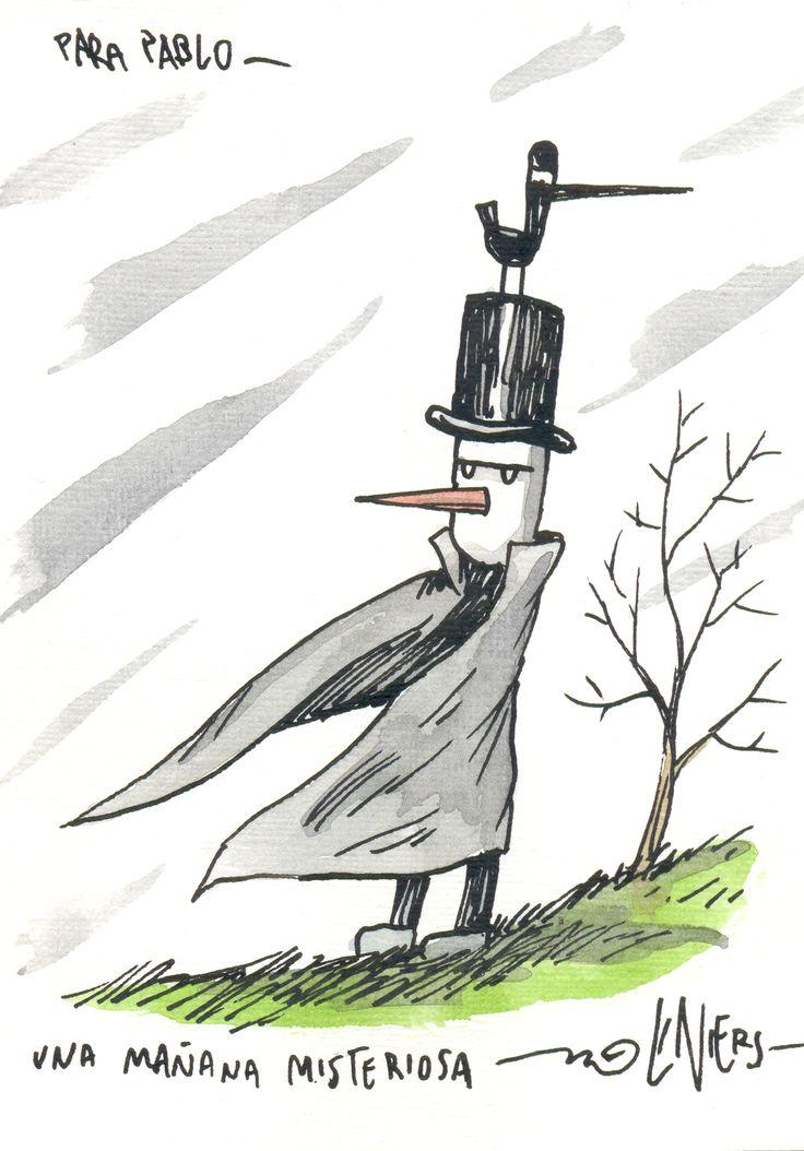 Mi personaje preferido de Liniers ... el hombre misterioso