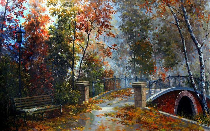 Гордеева Мария. Осенний парк