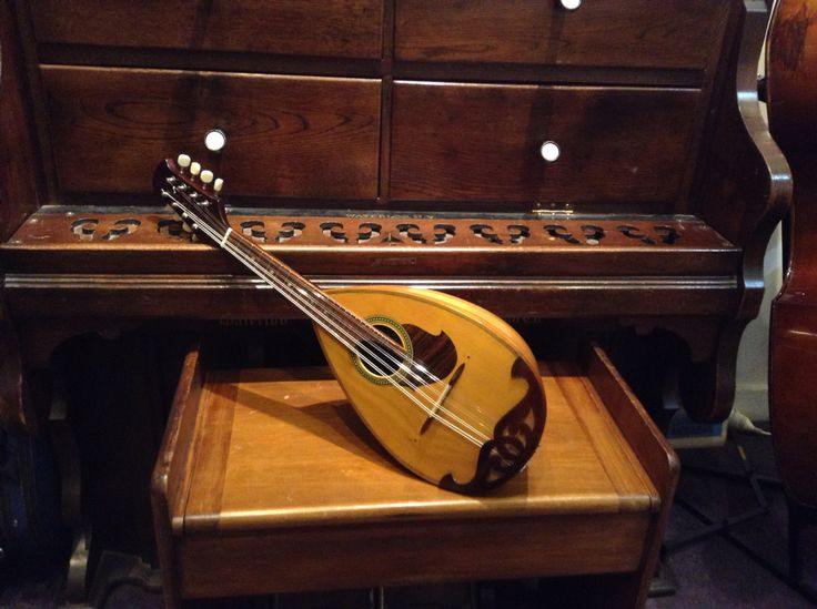 Suzuki Nagoya mandolin. 1960s vintage. Tailpiece cover was missing and a new one matched and carved by David Kirkland a master cabinet maker here in Wellington NZ. Set up by Simcha Delft. A really excellent instrument!