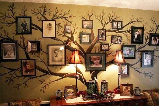 А Вы знаете историю свого рода? Интересовались своими корнями? Может у Вас в роду есть князья и принцы! На Западе, к примеру, практически каждая семья составляет родовое дерево и чтит память предков. Посмотрите, как красиво выглядят фото на стене в форме дерева #рамка #багетнаямастерская #рамкадляфото #фоторамка #багетнаямастерскаяВиртуоз