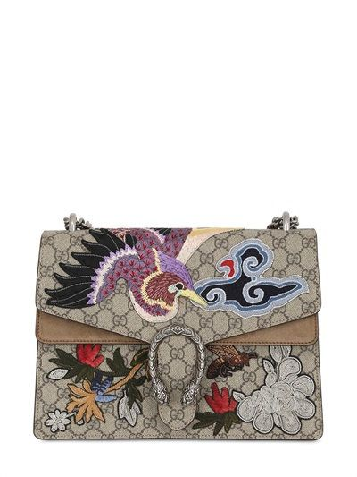 GUCCI - MEDIUM DIONYSUS GG SUPREME SHOULDER BAG