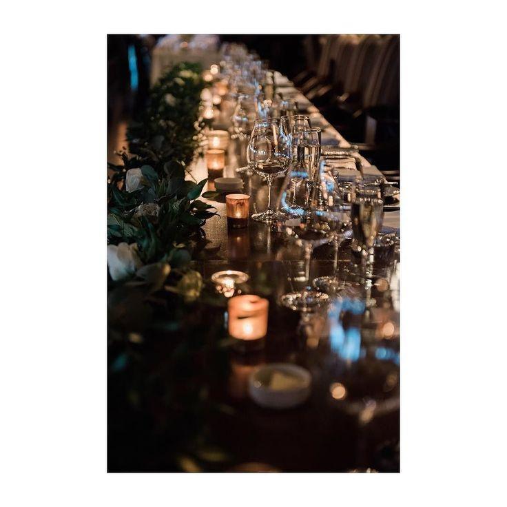 Just the right amount of candlelight can make simple & elegant decor stunning  : @abbyplusdave  Planner: @smittenweddings  Venue: @thelakehouseyyc  Florist: @deevinepetals  #decor  #tablescape  #earthy #metallics  #weddingdecor #weddingplanner #yycweddings  #yycweddingplanner  #calgaryweddings #smittenweddings  #smittenandco  #romantic #greenery #candlelight #weddingreceptiondecor  #restaurantwedding