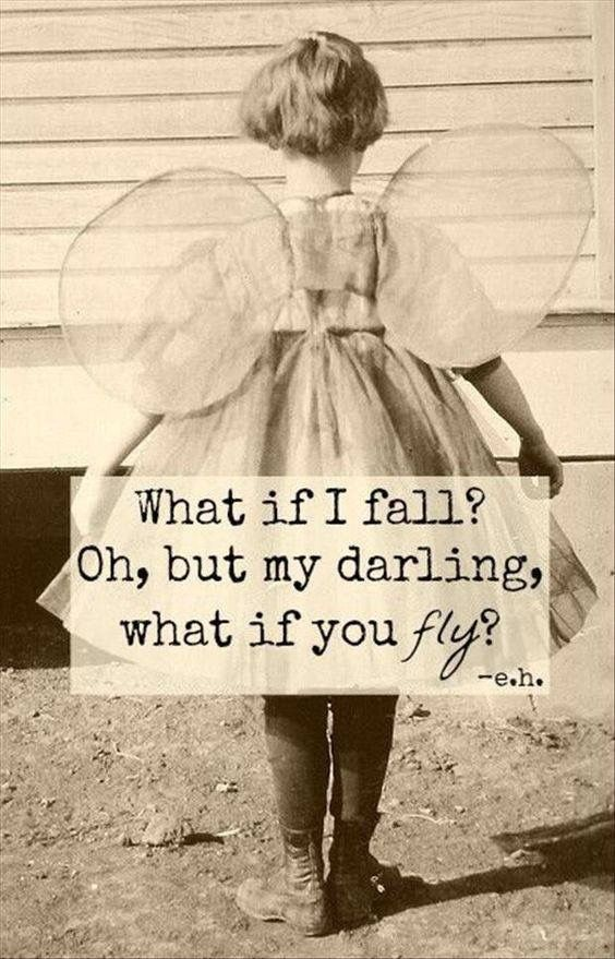 Don't be afraid to fly