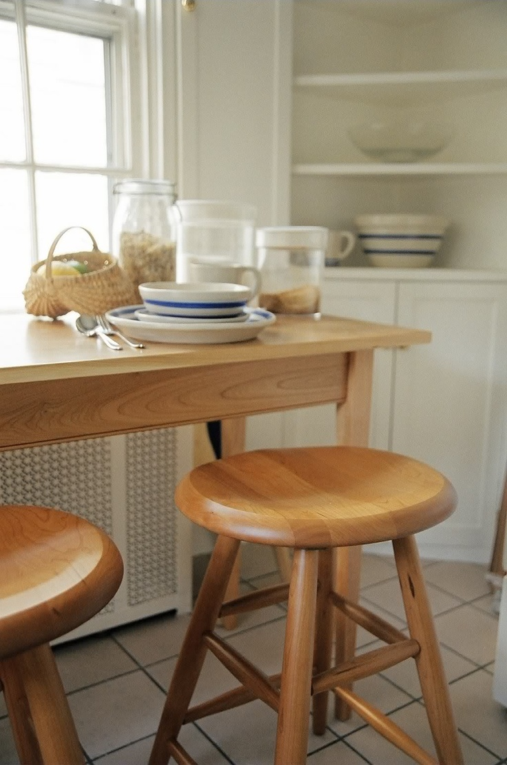 Home timelesswoodcreations com - Shaker Style Furniture Shaker Oval Saddle Stool Is Perfect For Kitchen Islands Breakfast Nooks