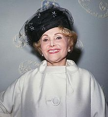 Jolie Gabor de Szigethy (29 September c.1896 – 1 April 1997) was a Hungarian-American entrepreneur, jeweler, and memoirist, best known as the mother of actresses and socialites Magda, Zsa Zsa, and Eva Gabor.