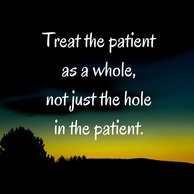 New Relationship Love Quotes: Treat The Patient As A Whole, Just The Hole In The Patient