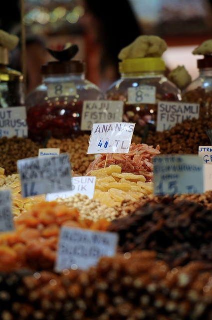 Food of the Bazaar Instanbul, Turkey by Frozen Canuck, via Flickr