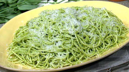 Mario Batali's Spaghetti with Green Tomatoes Recipe | The Chew - ABC.com