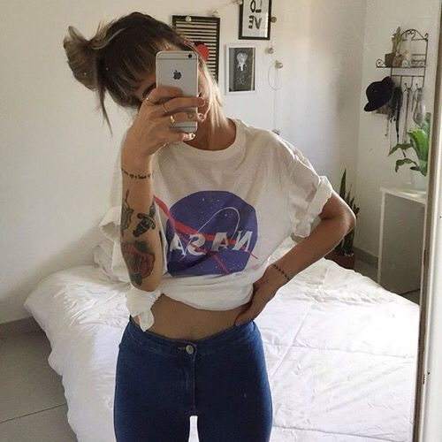 nasa shirt outfit - photo #9